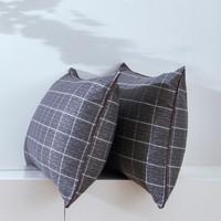 九洲鹿 JZT061 纤维枕头 (格调、单人、45*70cm、一对装、长方形)