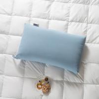佳佰 8732846 纤维枕头 (天蓝色、单人、46×72cm、一只装、水洗枕)