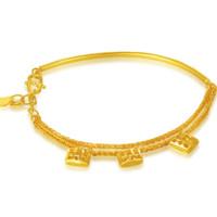 China Gold 中国黄金 GA0S089 足金半镯式手链