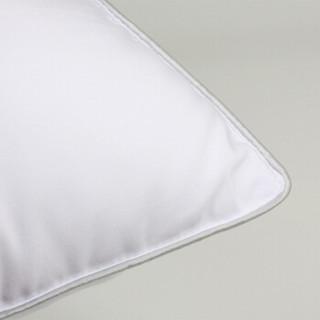 turqua 时光居品 6382285 纤维枕头 (白色、一对装、 48*74cm、水洗枕)