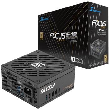 SEASONIC 海韵 FOCUS SGX 500SGX 电源 (金牌全模/十年质保/SFX-L小电源)