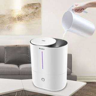 格力(GREE)加湿器 4L大容量 智能恒湿 静音加湿 上加水 办公室家用卧室带香薰盒 SC-40X65