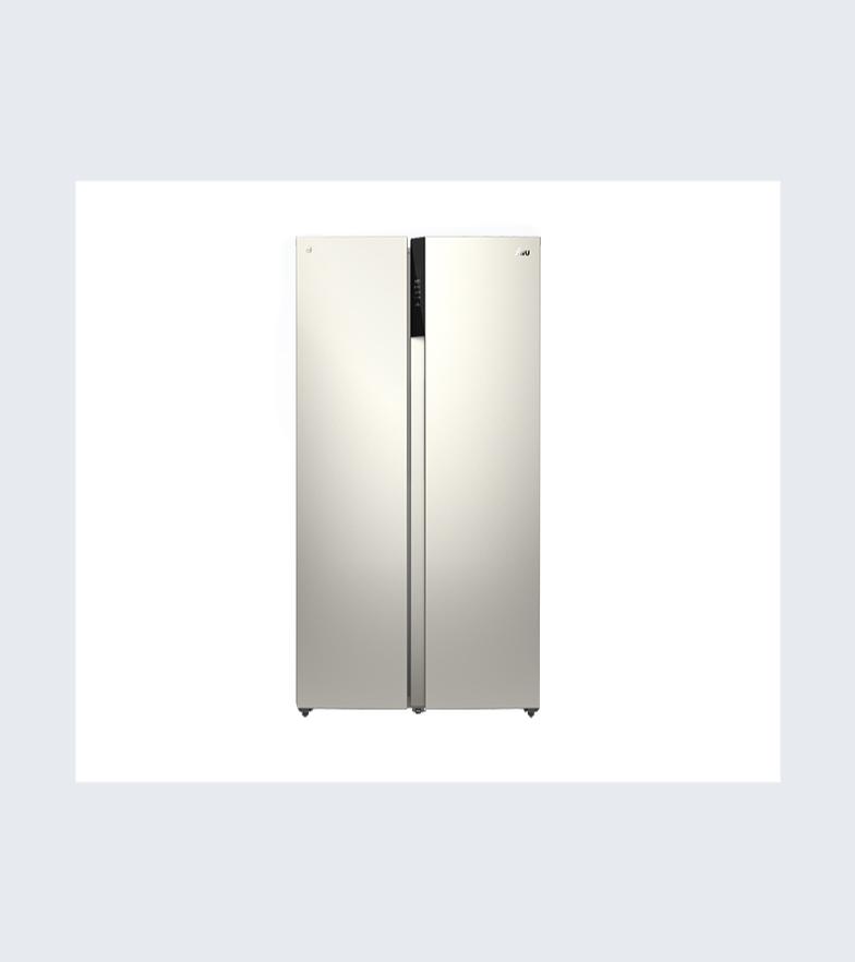 苏宁极物 小Biu JSE4628LP 变频风冷 对开门冰箱 468L