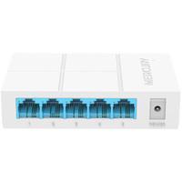 水星 S105M 5口百兆交换机 4口网线网络分线器 家用宿舍监控分流器