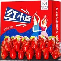 星农联合 红小厨 麻辣小龙虾 6-8钱 净虾2斤 +4-6钱 净虾1斤*3件