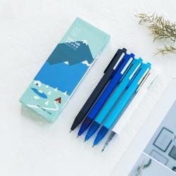 kinbor 色彩实验室 彩色中性笔 杆芯同色 5支装 多色可选