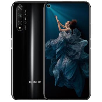 HONOR 荣耀20 智能手机 (8GB、128GB、全网通、幻夜黑)