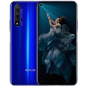 HONOR 荣耀20 智能手机 (8GB、256GB、全网通、幻影蓝)