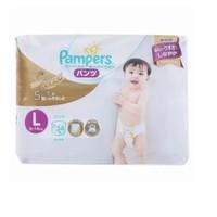 Pampers 帮宝适 白帮 婴儿拉拉裤 L34片 *5件