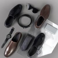 京东京造 男士一脚蹬皮鞋