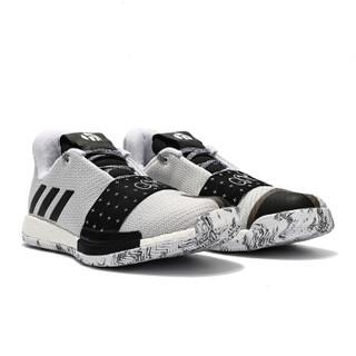 adidas 阿迪达斯 G54765-18 Harden Vol. 3 哈登 运动篮球鞋 (灰色、41)