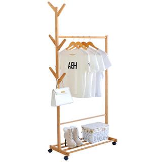 沁欣 单杆简易衣帽架(60cm长)