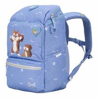 Gmt for kids挪威小方包小学生书包大容量减负儿童书包可爱卡通背包1-5年级 蔚蓝小松鼠