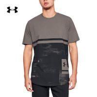 UNDER ARMOUR 安德玛 1318568  Sportstyle印花短袖运动休闲T恤 177(灰色、M)