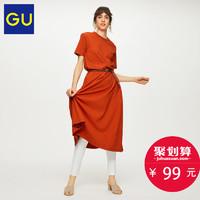 GU 极优 A字型连衣裙