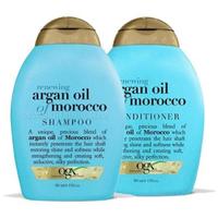 OGX 欧姬丝 摩洛哥洗发水385ml+护发素385ml