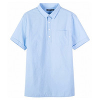 Semir 森马 19-038041306 男士短袖衬衫 *2件