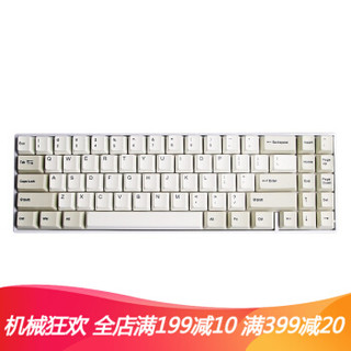 GANSS 高斯 ALT71 蓝牙双模机械键盘 71键 (Cherry茶轴、灰白)