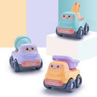 拥抱熊 回力车小汽车 3只装不同款