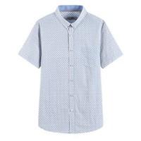雅鹿 ADC2CE033S 男士短袖衬衫