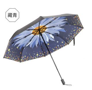 天堂 插画系列 折叠黑胶伞
