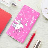 Hello Kitty 10000毫安充电宝 移动电源苹果安卓自带线 卡通可爱小巧便携 简单爱