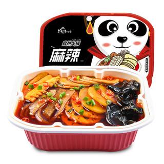 老城南 即食素菜自热小火锅 便携自嗨麻辣烫 (350g、盒装)