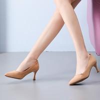 DUSTO 大东 DW19C3052A 女士尖头单鞋