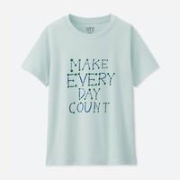 UNIQLO 优衣库 417189 女款GL印花T恤