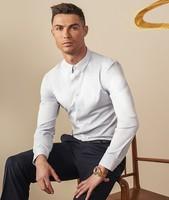 SEVEN 柒牌 男士长袖衬衫