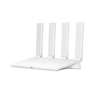 HUAWEI 华为 WS5200 四核版 1200M WiFi 5 家用路由器 白色