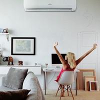 客厅空调非得选柜机?壁挂省地还美观