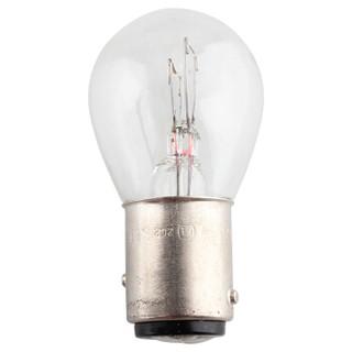 飞利浦(PHILIPS)超值型高低脚双尾指示灯刹车灯尾灯后雾灯转向灯P21/5W 12V汽车灯泡 10支装