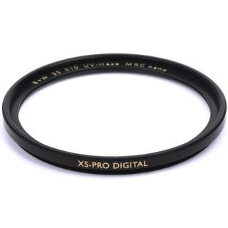 B+W uv镜 滤镜 55mm UV镜 MRC NANO XS-PRO 超薄多层纳米镀膜UV镜 保护镜