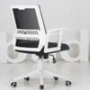 Hbada 黑白调 HDNY137 电脑椅 黑色-五爪