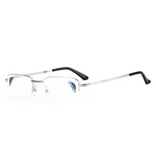 夕阳红折叠老花镜男女通用 高清便携舒适 AC镀膜镜片  JX6007 200度