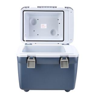 德国美固   T20 20L车载冰箱 车载冷暖箱 保温箱 自驾游户外小冰箱 车家两用 藏线盒设计 小冰箱 宝石蓝