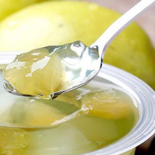 喜之郎 葡萄苹果果肉果冻200g 水果味 布丁 儿童零食