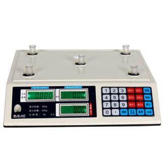 拜杰(Baijie)电子计价秤 电子台秤 电子秤30KG平面