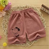 拉菲猴 儿童纯棉印花短裤 *2件