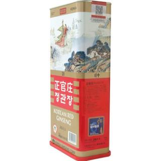 正官庄 韩国六年根高丽红参 高丽参人参[良字]20支600g(韩国原装进口)