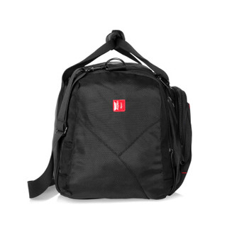 艾奔 (AspenSport) 大容量商务短途出差旅行包 男士手提行李包健身包男22英寸 AS11K10 黑色