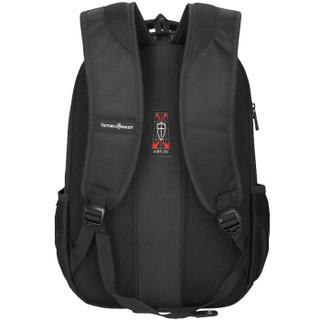 维多利亚旅行者VICTORIATOURIST电脑包 14英寸-15英寸双肩包背包笔记本电脑包男 女书包V6013黑色