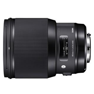 SIGMA 适马 Art 85mm F1.4 DG HSM 标准定焦镜头 佳能EF卡口 86mm