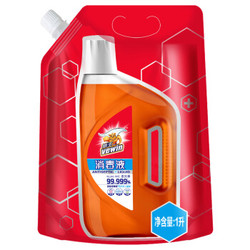 威王(vewin) 家居衣物除菌液 内衣消毒  不伤肤杀菌消毒液  威王超值袋装消毒液1L *4件