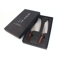 kai 贝印 关孙六 BE-0520 中式菜刀三德刀 两件套 +凑单品