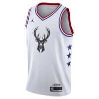 Giannis Antetokounmpo All-Star Edition Swingman Jordan NBA Connected Jersey 男子球衣