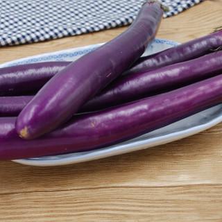 绿鲜知 长茄子 约500g 烧烤食材 新鲜蔬菜