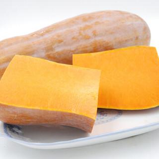 绿鲜知 奶油南瓜(切段) 约1kg 新鲜蔬菜