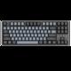 历史低价:DURGOD 杜伽 TAURUS K320 87键 机械键盘(深空灰、Cherry银轴、PBT) 399元包邮(需30元定金)